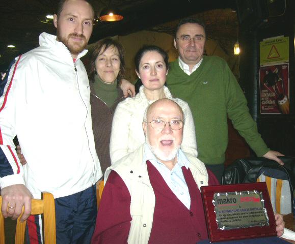 Homenaje como despedida del compañero D. Constantino García Mondelo de Makro A Coruña