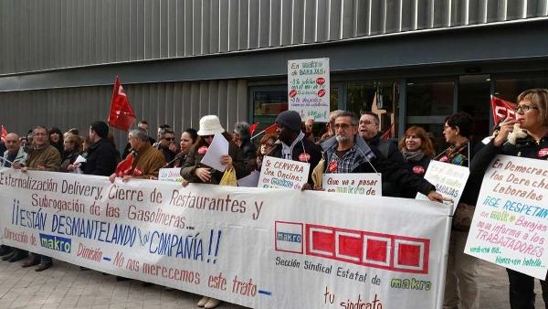 CCOO ABANDONA LA REUNIÓN DEL COMITÉ INTERCENTROS DE MAKRO