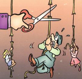 cuerda floja makro Trabajadores