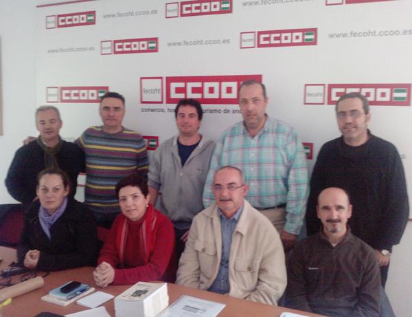 delegados andalucia Makro ccoo