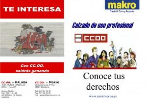 Calzado de Seguridad Makro CCOO