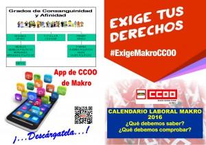 Consejos Calendarios Laborales Makro 2016