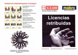 Licencias Makro CCOO