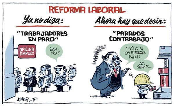 reforma laboral Makro 2012
