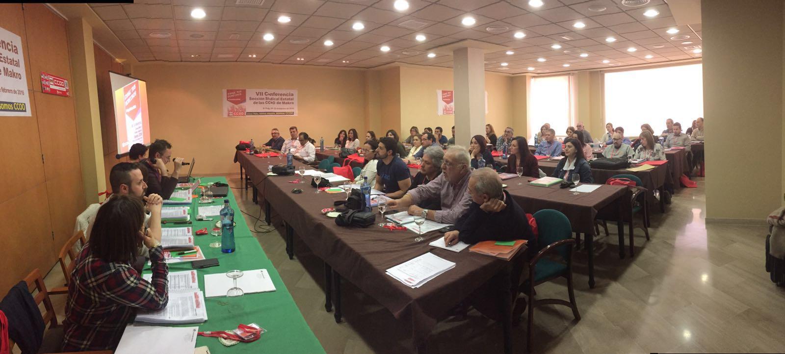 VII Conferencia Estatal de CCOO de Makro Delegados