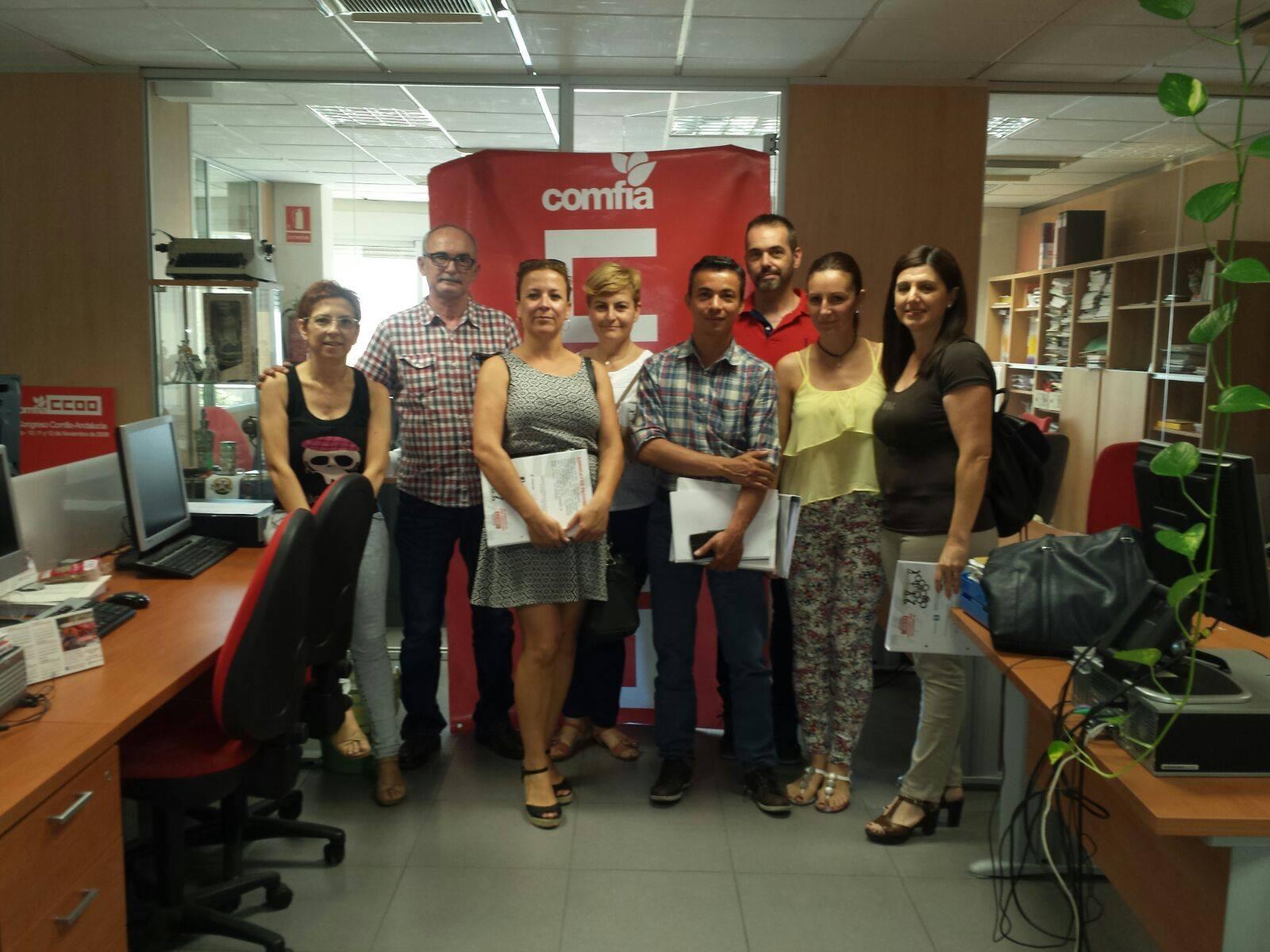 Delegados CCOO Makro Andalucia