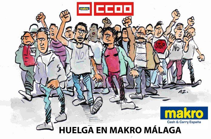 HUELGA MAKRO MALAGA CCOO
