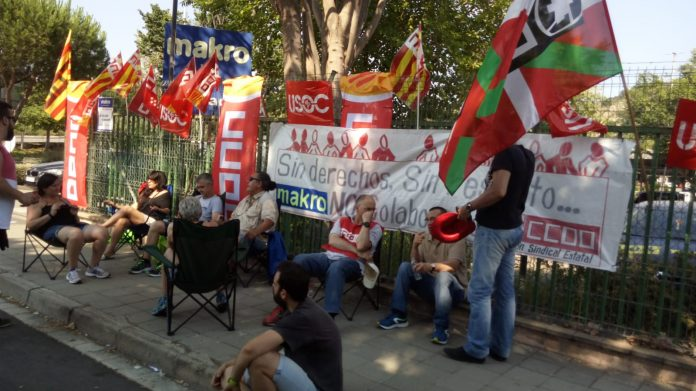huelga Makro Badalona 2018