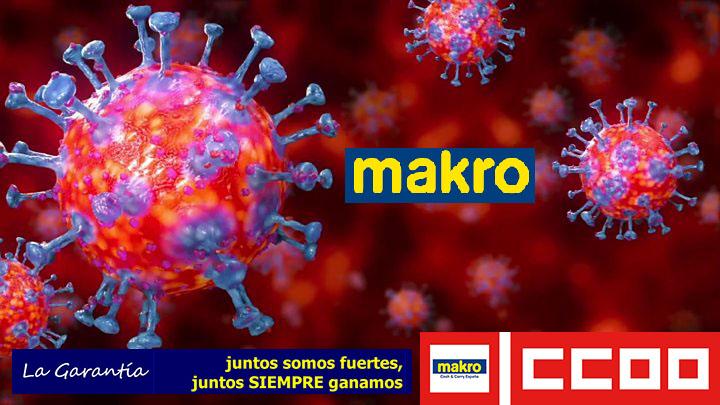 Coronavirus Makro CCOO