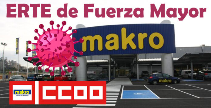 Makro CASH & CARRY ERTE FUERZA MAYOR CCOO