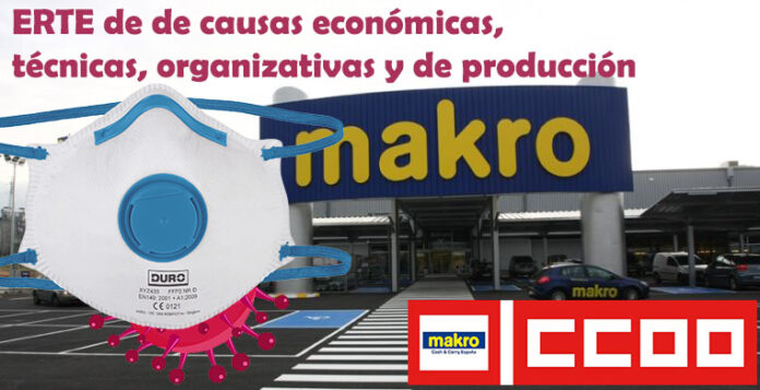 Makro CASH & CARRY ERTE Mascarillas