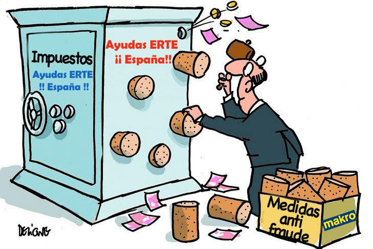 Makro Fraude ERTE