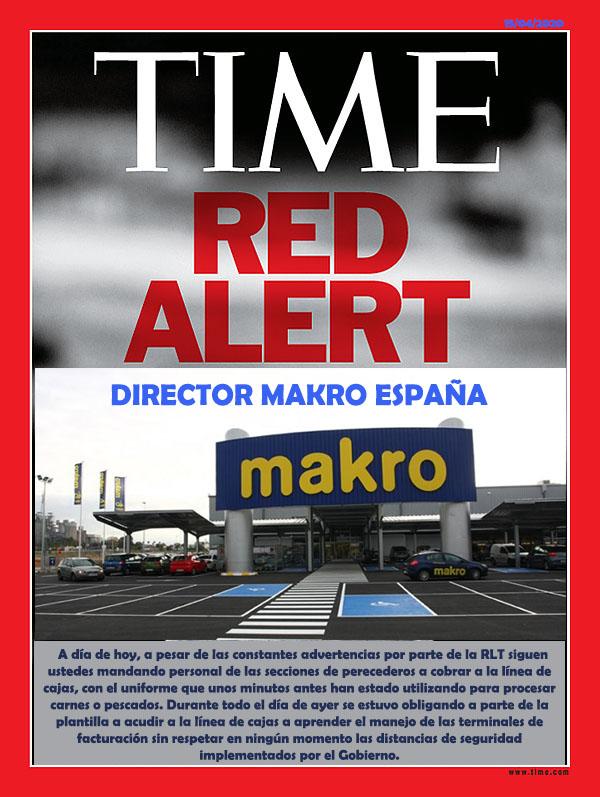 Time Makro Coronavirus Metro Spain