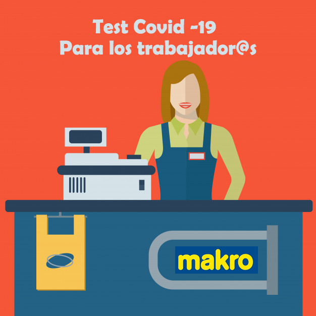 Makro Cash Carry hostelería y alimentación Test Covid 19