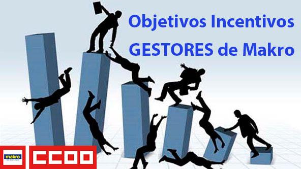 Objetivos Incentivos Gestores Fuerza venta de Makro Cash & Carry