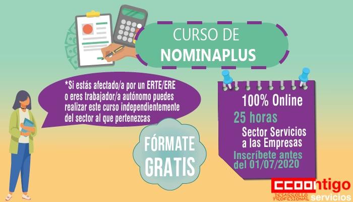Curso CCOO Web_ Nominaplus curso trabajadores