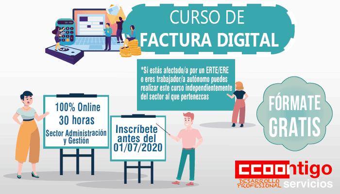 Curso CCOO factura-digital-curso trabajadores