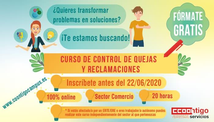 Curso CCOO quejas-reclamaciones-web curso trabajadores