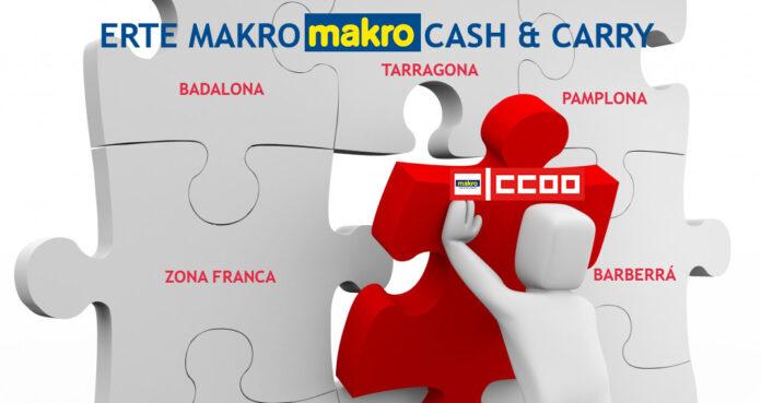 Negociacion ERTE MAKRO Cash & Carry CCOO