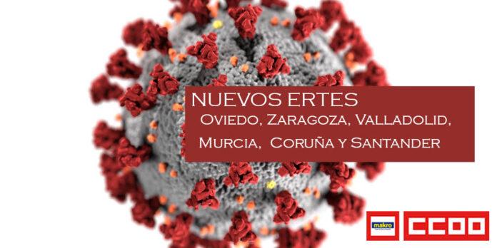 Makro Comunica a la Representación Sindical la inteción de inicar un nuevo ERTE en Makro Coruña, Murcia, Oviedo, Santander, Valladolid y Zaragoza