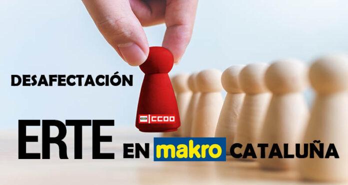 Desafectación ERTE Makro Cataluña