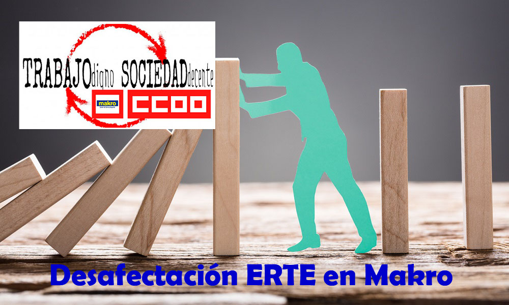 Desafectación de ERTE para los Trabajadores de Makro Cataluña Makro Cash & Carry