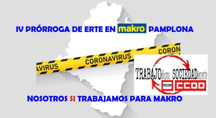 IV Prórroga ERTE Makro Pamplona