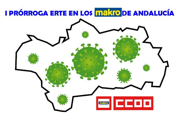 I Prorroga ERTE Andalucia Coronavirus