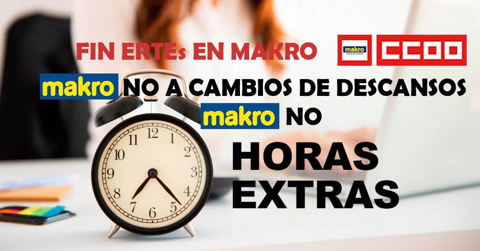 FIN DE TODOS LOS ERTEs EN MAKRO - Desafectación de los trabajadores en Erte de Makro