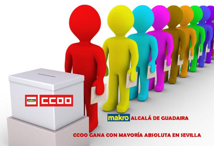CCOO gana elecciones en Makro Alcala de Guadaira Sevilla