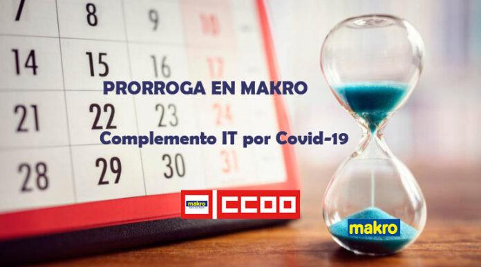 COMISIÓN COVID-19, Prórroga complemento IT en Makro Por Covid-19