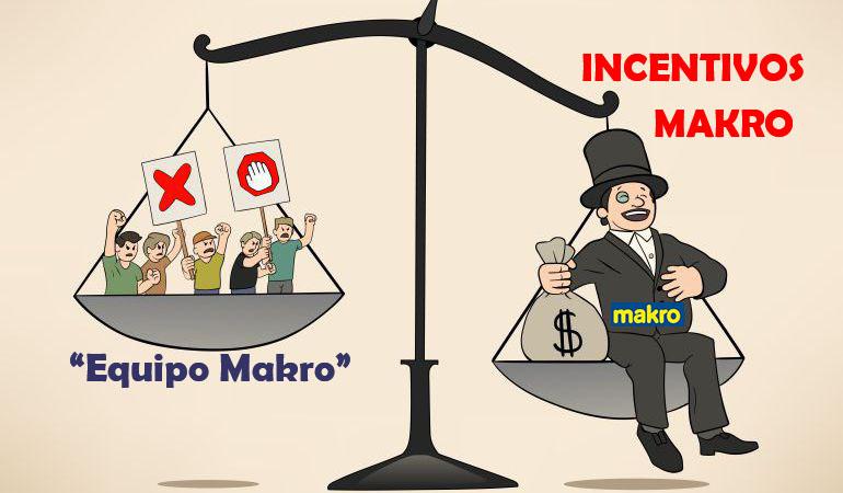 Equipo Makro CASH & CARRY INCENTIVOS BONUS